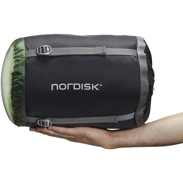 Nordisk Gormsson -2° Egg Schlafsack L schwarz/grün