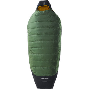 Nordisk Gormsson -2° Egg Saco de Dormir L, negro/verde negro/verde