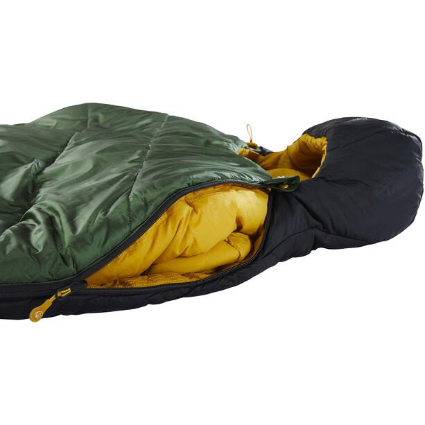 Nordisk Gormsson -2° Mummy Sac de couchage L, artichoke green/mustard yellow/black
