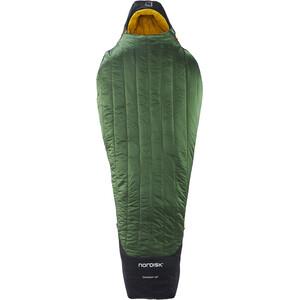 Nordisk Gormsson -20° Mummy Sovsäck L svart/grön svart/grön