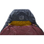 Nordisk Oscar +10° Curve Schlafsack M rio red/mustard yellow/black
