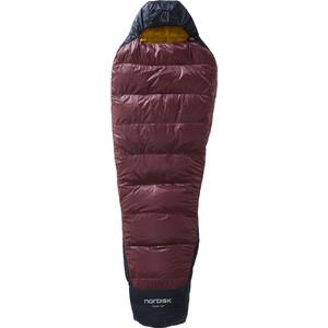 Nordisk Oscar +10° Mummy Schlafsack M schwarz/rot schwarz/rot