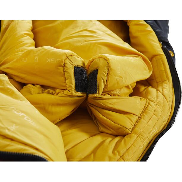 Nordisk Oscar -10° Mummy Sac de couchage L, rio red/mustard yellow/black