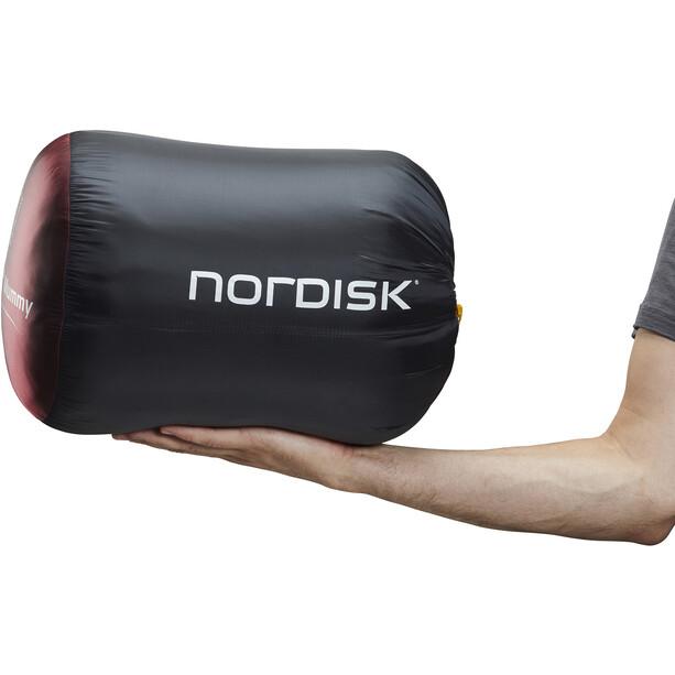 Nordisk Oscar -10° Mummy Schlafsack XL rio red/mustard yellow/black