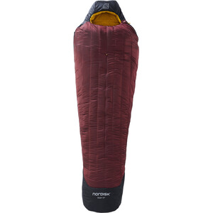 Nordisk Oscar -10° Mummy Schlafsack XL schwarz/rot schwarz/rot