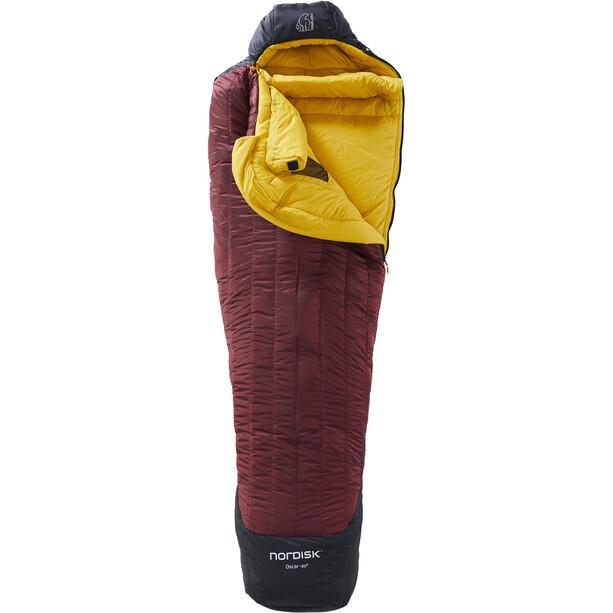 Nordisk Oscar -20° Mummy Schlafsack M rio red/mustard yellow/black
