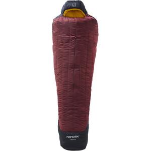 Nordisk Oscar -20° Mummy Sac de couchage XL, noir/rouge noir/rouge
