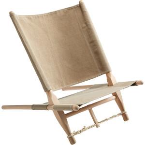Nordisk Moesgaard Chaise en bois, beige beige