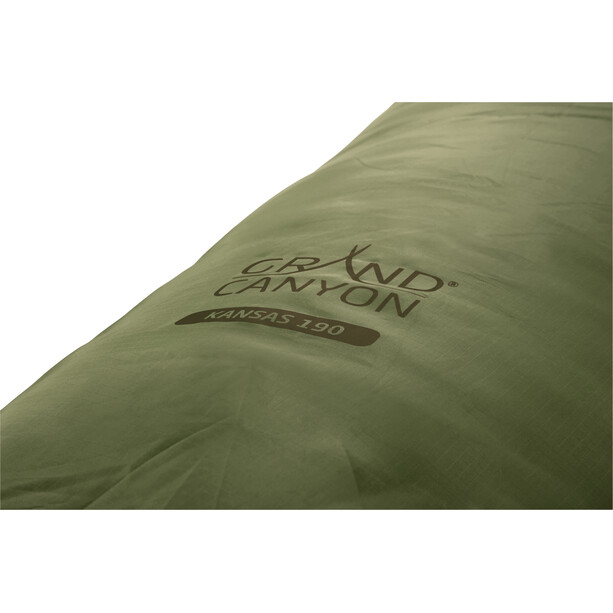 Grand Canyon Kansas 190 Schlafsack capulet olive
