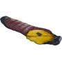 Nordisk Oscar +10° Curve Sleeping Bag L rio red/mustard yellow/black