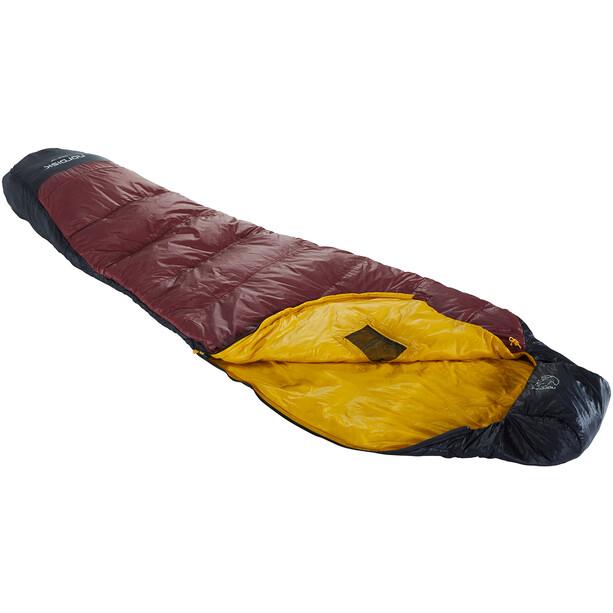 Nordisk Oscar +10° Mummy Sleeping Bag L rio red/mustard yellow/black