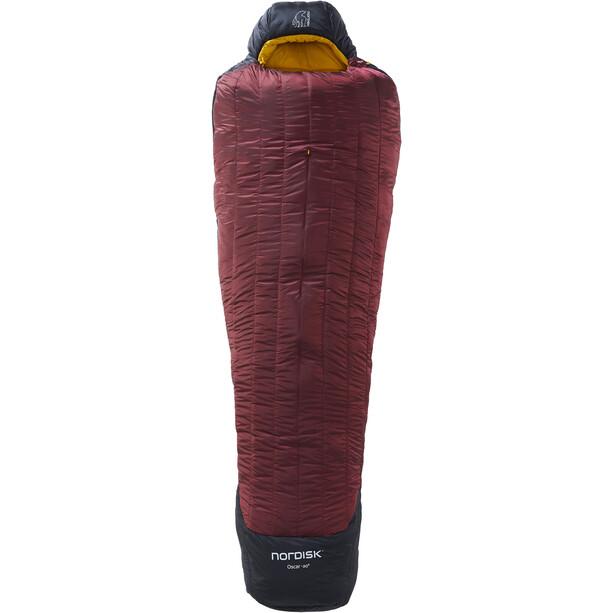 Nordisk Oscar -20° Mummy Sleeping Bag L rio red/mustard yellow/black