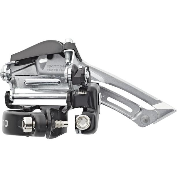 Shimano Tourney FD-TY710-2 Dérailleur avant 2x7/8 vitesses Top Swing Low