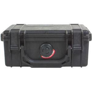 Peli 1120 Kleine Box mit Schaumeinsatz schwarz schwarz
