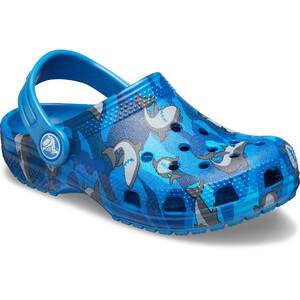Crocs Classic Shark Prescool Crocs Enfant, bleu bleu