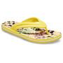 Crocs Crocband Tie Dye Mania Flip Sandalen Damen gelb/bunt