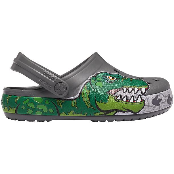 Crocs Crocs FL Dino Band Lights Crocs Enfant, slate grey