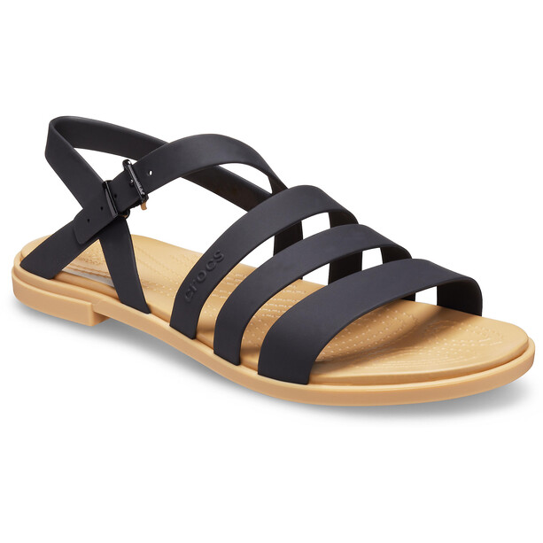 Crocs Tulum Sandalen Damen black/tan