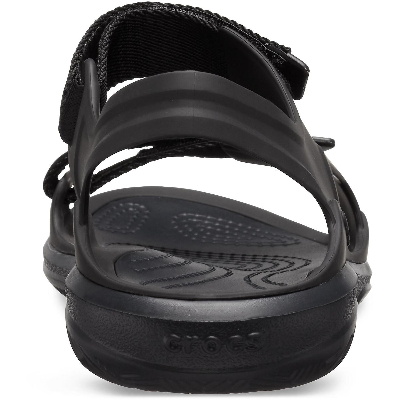 Crocs Swiftwater Expedition Sandalen Damen black/black