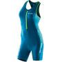 ORCA Core Race Suit Women, sininen/turkoosi
