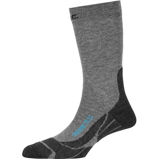 P.A.C. TR 3.1 Trekking Light Socken Herren grey