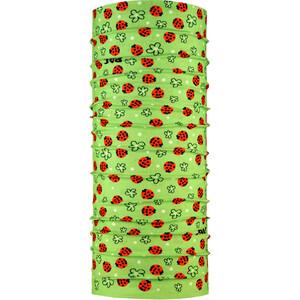 P.A.C. Multifunktionstuch Kinder grün/rot grün/rot