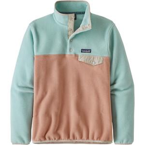 Patagonia Lightweight Synchilla Snap-T Pullover Damen scotch pink scotch pink