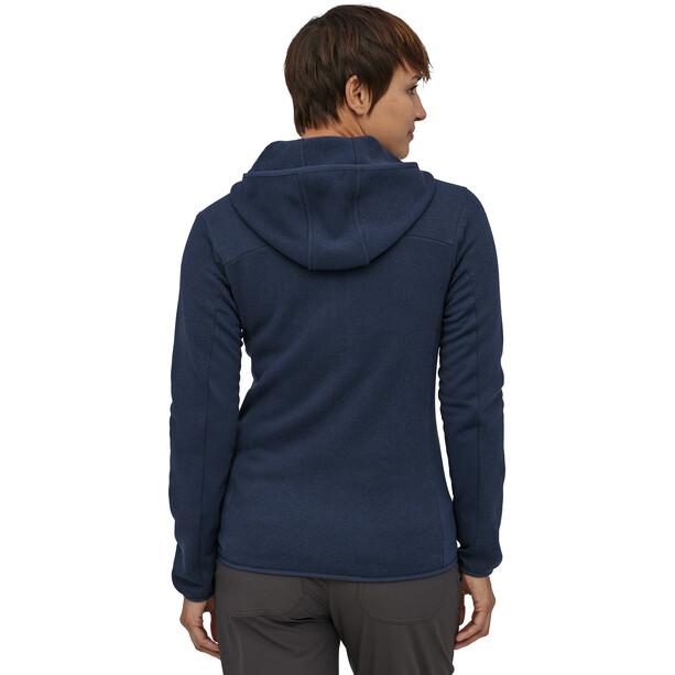 Patagonia Lightweight Better Sweater Hoody Damen blau