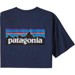 Patagonia P-6 Logo Pocket Responsibili-Tee Men, classic navy classic navy
