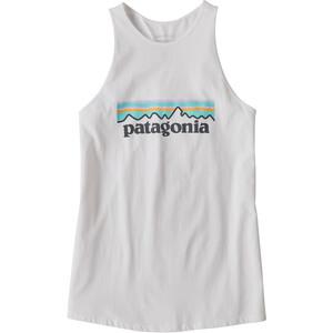 Patagonia Pastel P-6 Logo Organic Hoch Geschlossenes Tanktop Damen weiß weiß