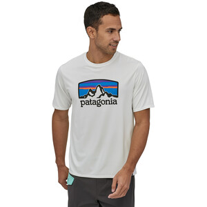 Patagonia Cap Cool Daily Graphic T-Shirt Herren fitz roy horizons/white fitz roy horizons/white