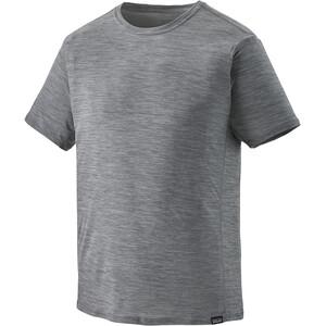 Patagonia Cap Cool Lightweight T-paita Miehet, harmaa harmaa