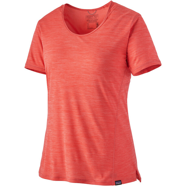 Patagonia Capilene Cool Lightweight Shirt Damen rot