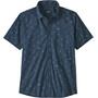 Patagonia Go To T-shirt Homme, bleu