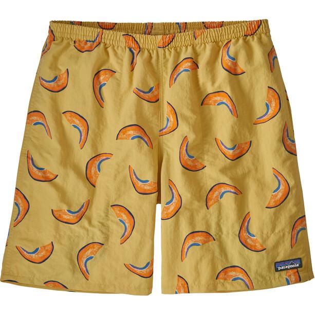 """Patagonia Baggies 7"""" Lange Shorts Herren melons/surfboard yellow"""