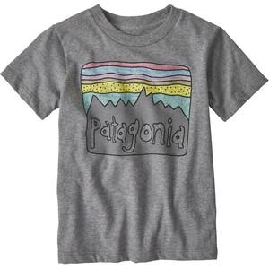 Patagonia Fitz Roy Skies Organic T-Shirt Kinder grau grau