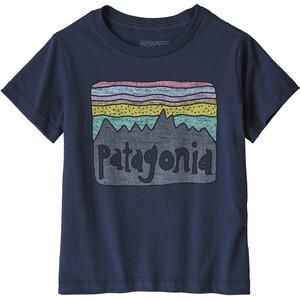 Patagonia Fitz Roy Skies Organic T-Shirt Kinder blau blau