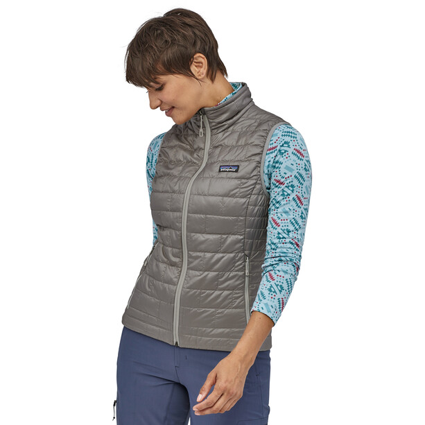 Patagonia Nano Puff Weste Damen feather grey