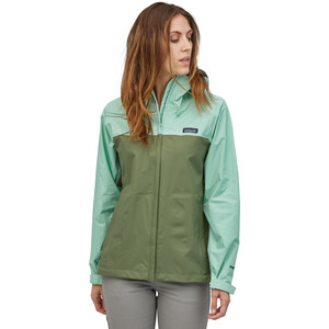 Patagonia Torrentshell 3L Jacke Damen gypsum green gypsum green