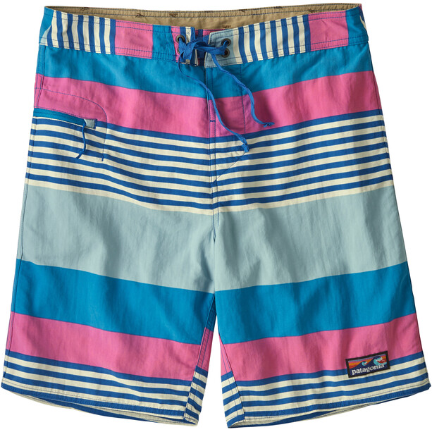 Patagonia Wavefarer Boardshortsit Miehet, fitz stripe/joya blue