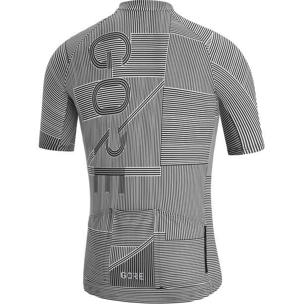 GORE WEAR C3 Line Brand Trikot Herren white/black