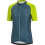 GORE WEAR C3 Ondasia Jersey Women nordic blue/citrus green