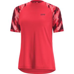 GORE WEAR C5 Trail Kurzarm Trikot Damen hibiscus pink/chestnut red hibiscus pink/chestnut red