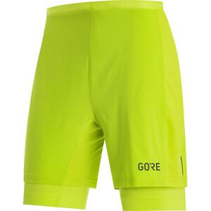 GORE WEAR R5 2in1 Shorts Herren citrus green citrus green