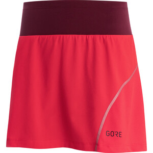 GORE WEAR R7 Skort Women hibiscus pink/chestnut red hibiscus pink/chestnut red