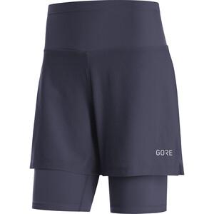 GORE WEAR R5 2in1 Shorts Damen orbit blue orbit blue