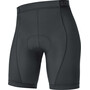 GORE WEAR C3+ Kurze Fahrradinnenhose Damen schwarz