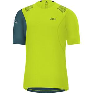 GORE WEAR R7 Shirt Herren citrus green/dark nordic blue citrus green/dark nordic blue