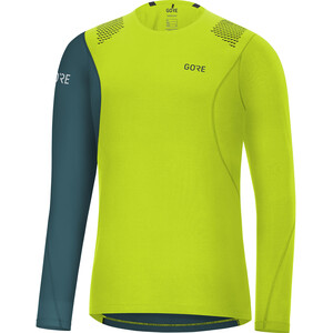 GORE WEAR R7 Langarmshirt Herren blau/grün blau/grün