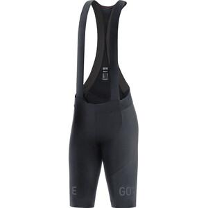 GORE WEAR C7+ Trägerhose kurz Damen schwarz schwarz